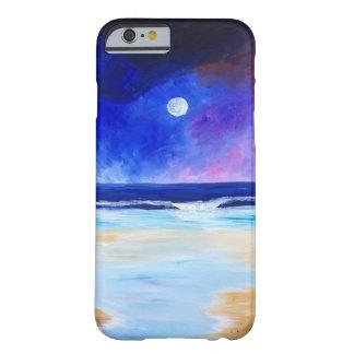 Coque Barely There iPhone 6 Danse pour la déclaration réfléchie d'art de lune