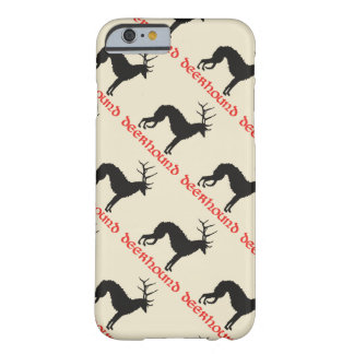 Coque Barely There iPhone 6 Deerhound & deer