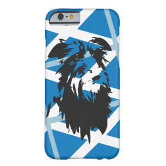 Coque Barely There iPhone 6 Deerhound Drapeau