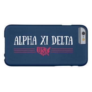 Coque Barely There iPhone 6 Delta Etats-Unis de l'alpha XI