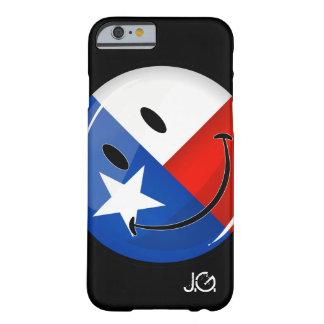 Coque Barely There iPhone 6 Drapeau de sourire du Texas
