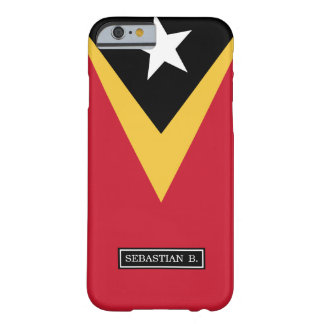Coque Barely There iPhone 6 Drapeau du Timor oriental