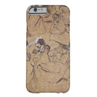 Coque Barely There iPhone 6 Edgar Degas | douze études des femmes dans le