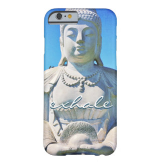 "Coque Barely There iPhone 6 ""Exhalez"" la photo blanche paisible d'Hawaï"