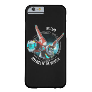 Coque Barely There iPhone 6 Faisceau rouge de plasma de lion de Voltron |