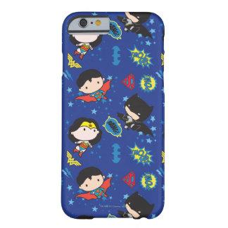 Coque Barely There iPhone 6 Femme de merveille de Chibi, Superman, et motif de