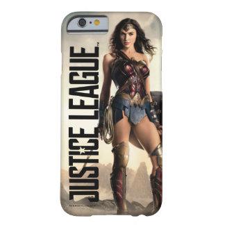 Coque Barely There iPhone 6 Femme de merveille de la ligue de justice | sur le