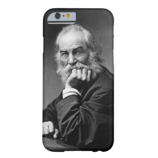 Coque Barely There iPhone 6 Feuille de Walt Whitman d'herbe