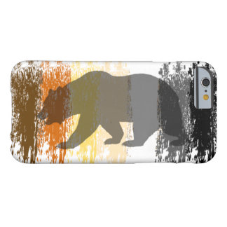 Coque Barely There iPhone 6 Fierté gaie d'ours d'ombre grunge fraîche d'ours
