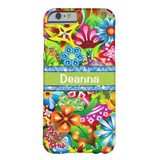 Coque Barely There iPhone 6 Fleurs sauvages dans des couleurs vives