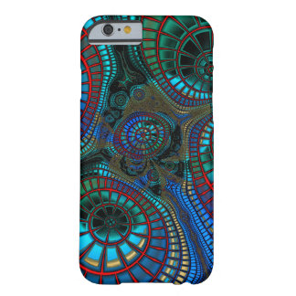 Coque Barely There iPhone 6 Fractale de ondulation
