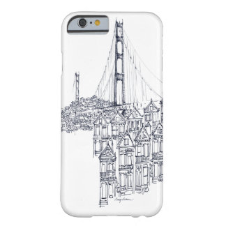 Coque Barely There iPhone 6 Golden Gate