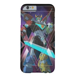 Coque Barely There iPhone 6 Graphique intergalactique de Voltron | Voltron