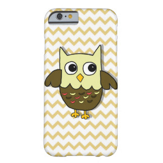 Coque Barely There iPhone 6 Hibou de Brown
