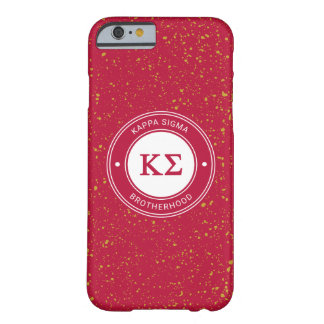 Coque Barely There iPhone 6 Insigne du sigma   de Kappa