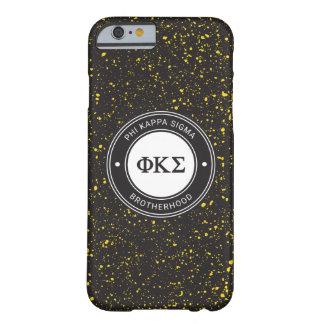 Coque Barely There iPhone 6 Insigne du sigma   de Kappa de phi