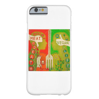 Coque Barely There iPhone 6 iPhone 6 vegan life meat