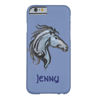 Coque Barely There iPhone 6 Iphone/coque ipad dramatiques de cheval