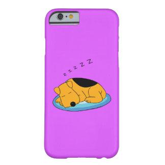 Coque Barely There iPhone 6 iPhone de ronflement mignon 6/6sCase de chien de