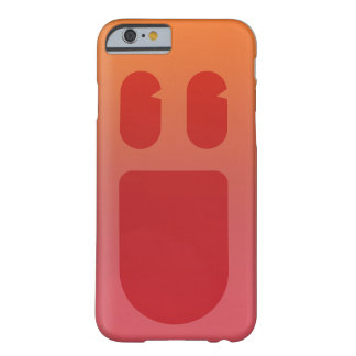 Coque Barely There iPhone 6 iPhone rouge 6/6s de Phonecase de sourire