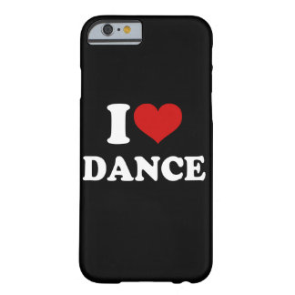 Coque Barely There iPhone 6 J'aime la danse