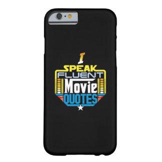 Coque Barely There iPhone 6 Je parle le cas fluide de téléphone de citations