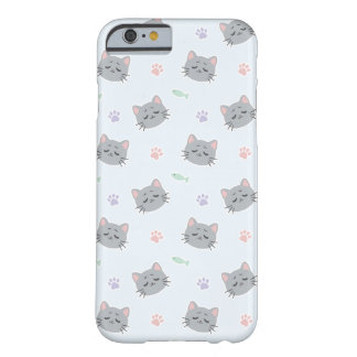Coque Barely There iPhone 6 Kitty satisfait par Yokute