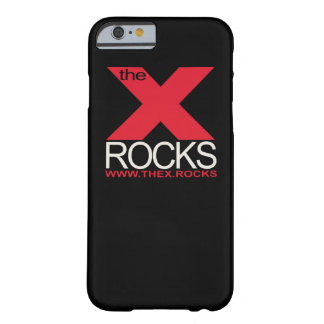 Coque Barely There iPhone 6 La caisse noire de l'iPhone 6 de X
