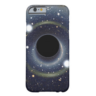 Coque Barely There iPhone 6 La NASA d'anneau d'Einstein de trou noir