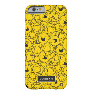 Coque Barely There iPhone 6 La série du motif jaune | de sourires ajoutent