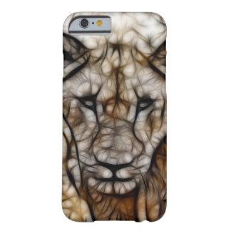 Coque Barely There iPhone 6 L'Afrique du Sud je suis art de lion