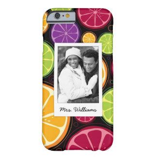 Coque Barely There iPhone 6 L'agrume coloré multi | ajoutent votre photo