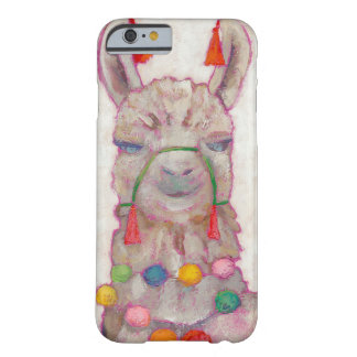 Coque Barely There iPhone 6 Lama de festival d'aquarelle