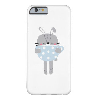 Coque Barely There iPhone 6 Lapin et tasse