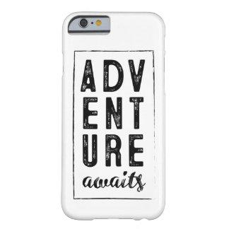 Coque Barely There iPhone 6 L'aventure attend le cas de téléphone