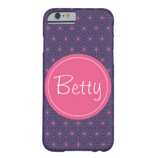 Coque Barely There iPhone 6 Lazer rose pourpre