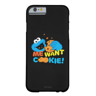 Coque Barely There iPhone 6 Le biscuit veut le biscuit