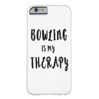 Coque Barely There iPhone 6 Le bowling est ma thérapie