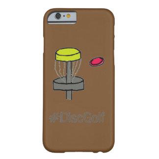 Coque Barely There iPhone 6 Le brun Iphone 6, golf de #DiscGolf de disque du