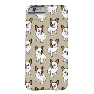 Coque Barely There iPhone 6 Le faon adorable Frenchie pie
