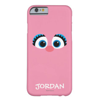 Coque Barely There iPhone 6 Le grand visage | d'Abby Cadabby ajoutent votre