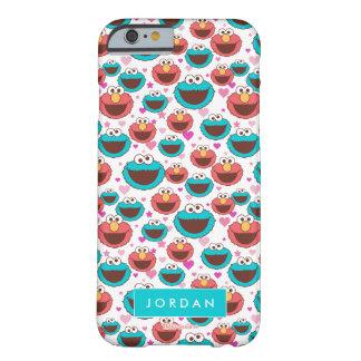 Coque Barely There iPhone 6 Le motif | de paix et d'amour ajoutent votre nom