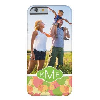 Coque Barely There iPhone 6 Le motif en pastel | de pommes ajoutent votre
