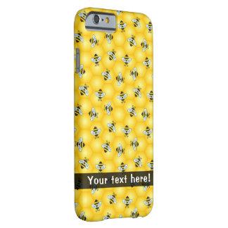 Coque Barely There iPhone 6 Le ronflement gaffent les abeilles et le motif