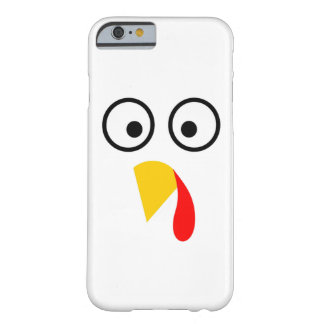 Coque Barely There iPhone 6 Le thanksgiving Turquie font face