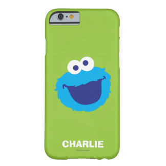 Coque Barely There iPhone 6 Le visage | de monstre de biscuit ajoutent votre