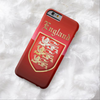 Coque Barely There iPhone 6 Les bras royaux de l'Angleterre