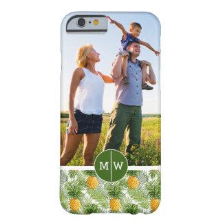 Coque Barely There iPhone 6 Les paumes et les ananas | ajoutent votre photo et