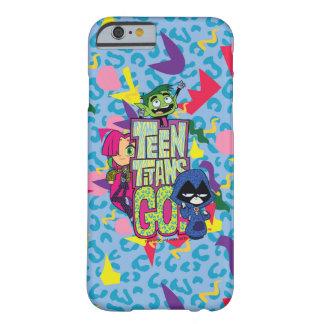 Coque Barely There iPhone 6 Les titans de l'adolescence vont ! logo de poster