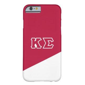 Coque Barely There iPhone 6 Lettres de Grec du sigma   de Kappa